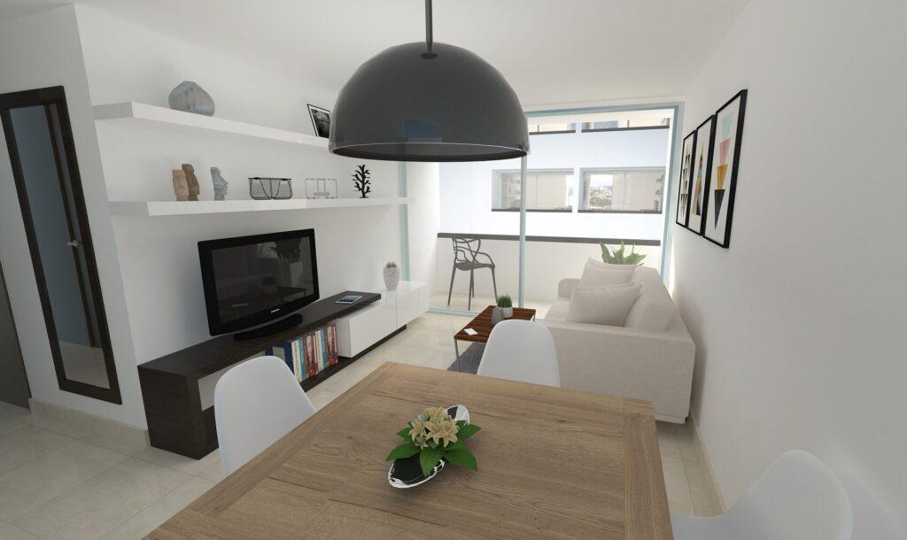 Un salón-comedor luminoso, amplio y acogedor - reformas integrales de viviendas